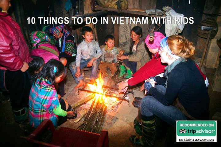 10 things to do in Vietnam with kids