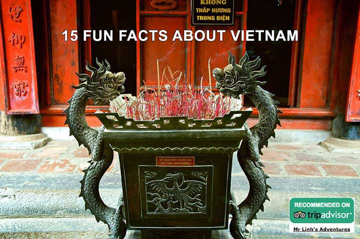 15 fun facts about Vietnam