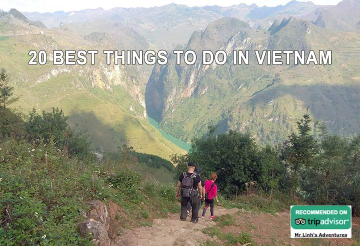 20 best things to do in Vietnam