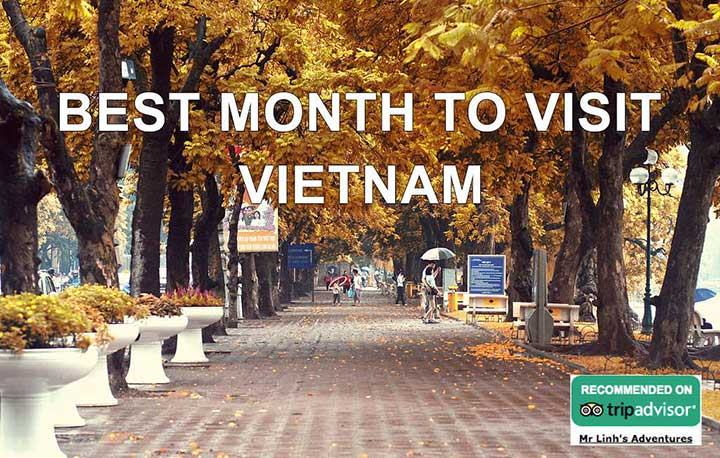 Best month to visit Vietnam