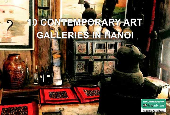 10 contemporary art galleries in Hanoi