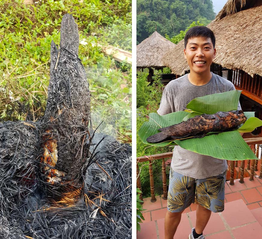 How to make a Vietnamese grilled fish