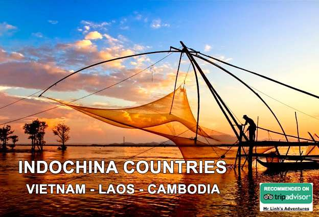 Indochina countries: fascinating facts about Vietnam, Laos and Cambodia