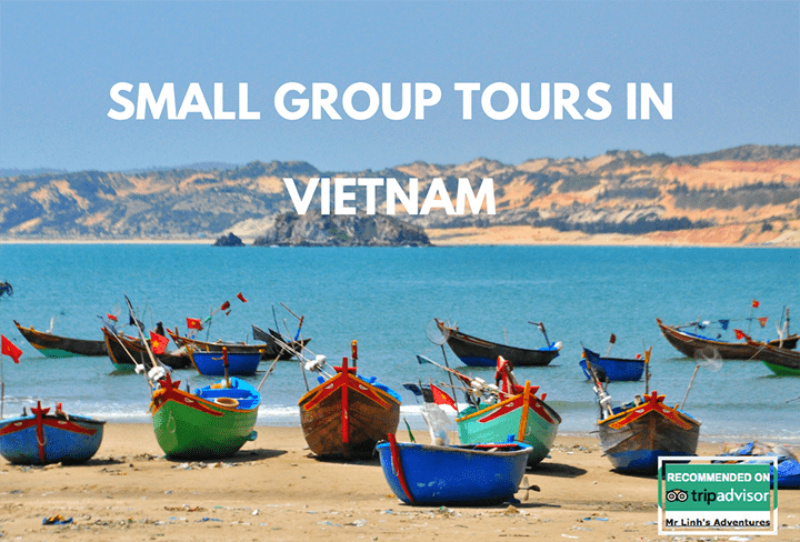 Small group tours in Vietnam