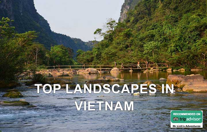 Top Landscapes in Vietnam according to TripAdvisor