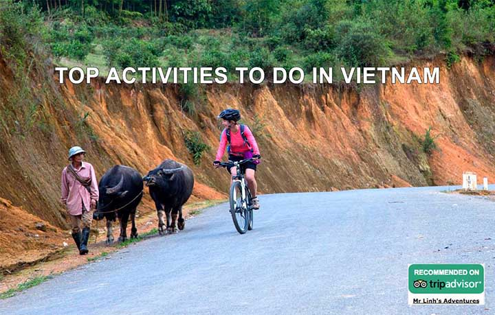 Top activities to do in Vietnam