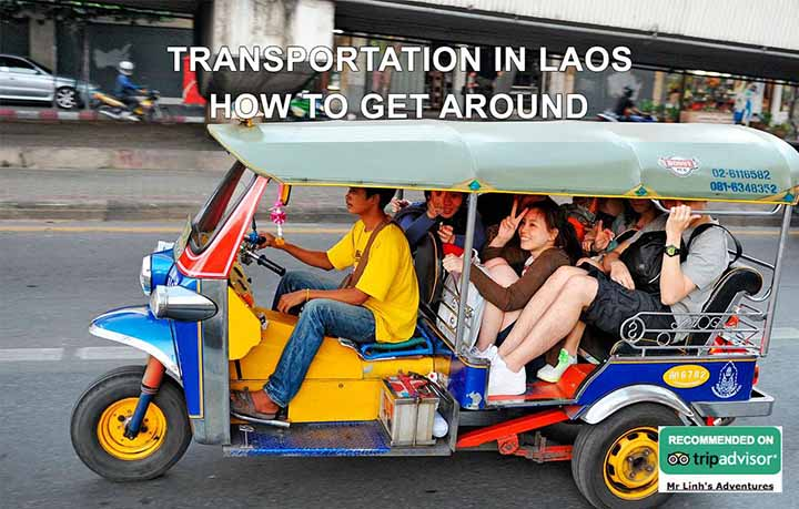 Transportation in Laos: how to get around