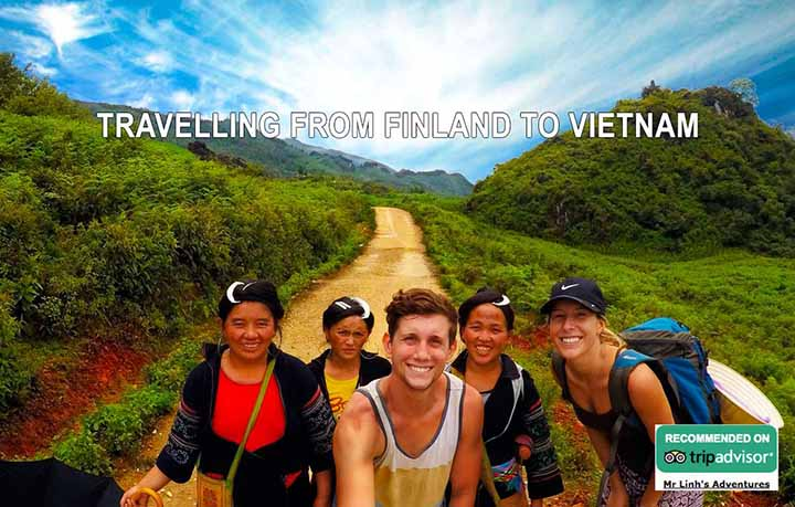 Travelling from Finland to Vietnam: flights, tips + tours