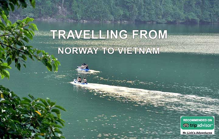 Travelling from Norway to Vietnam: flights, tips + tours