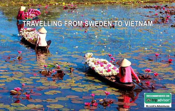 Travelling from Sweden to Vietnam: flights, tips + tours