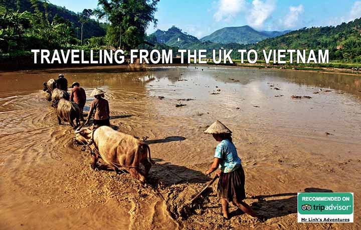 Travelling from the UK to Vietnam: flights, tips + tours