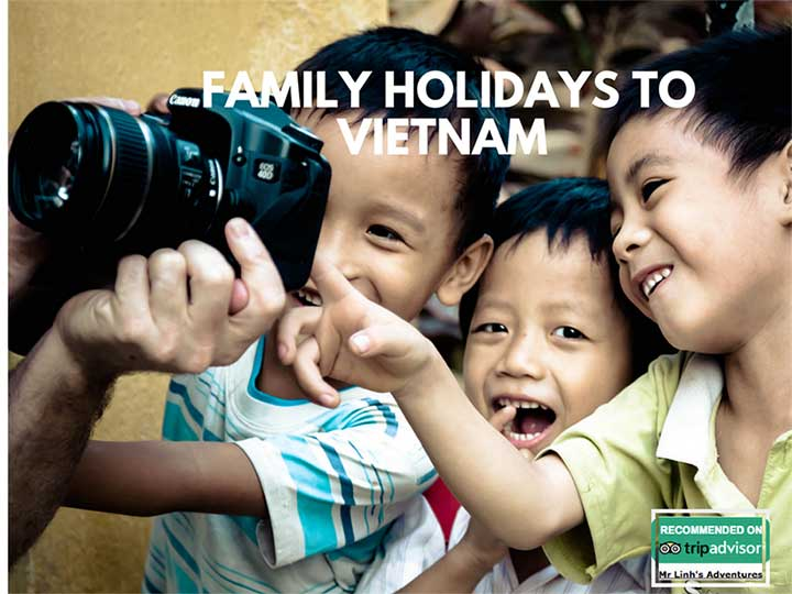 Travel guide for family holidays to Vietnam